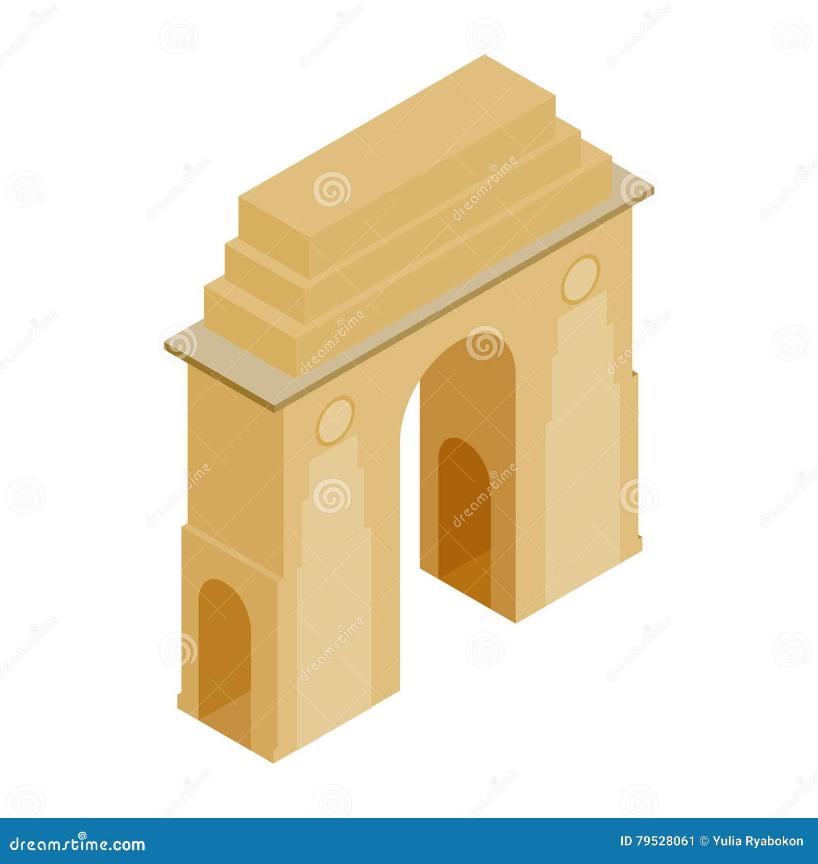 Porta da Índia, Nova Deli, ícone da Índia