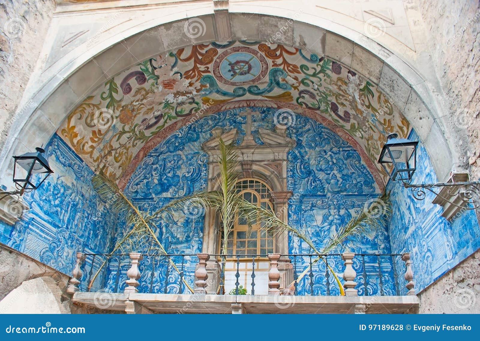 A porta da cidade de Obidos