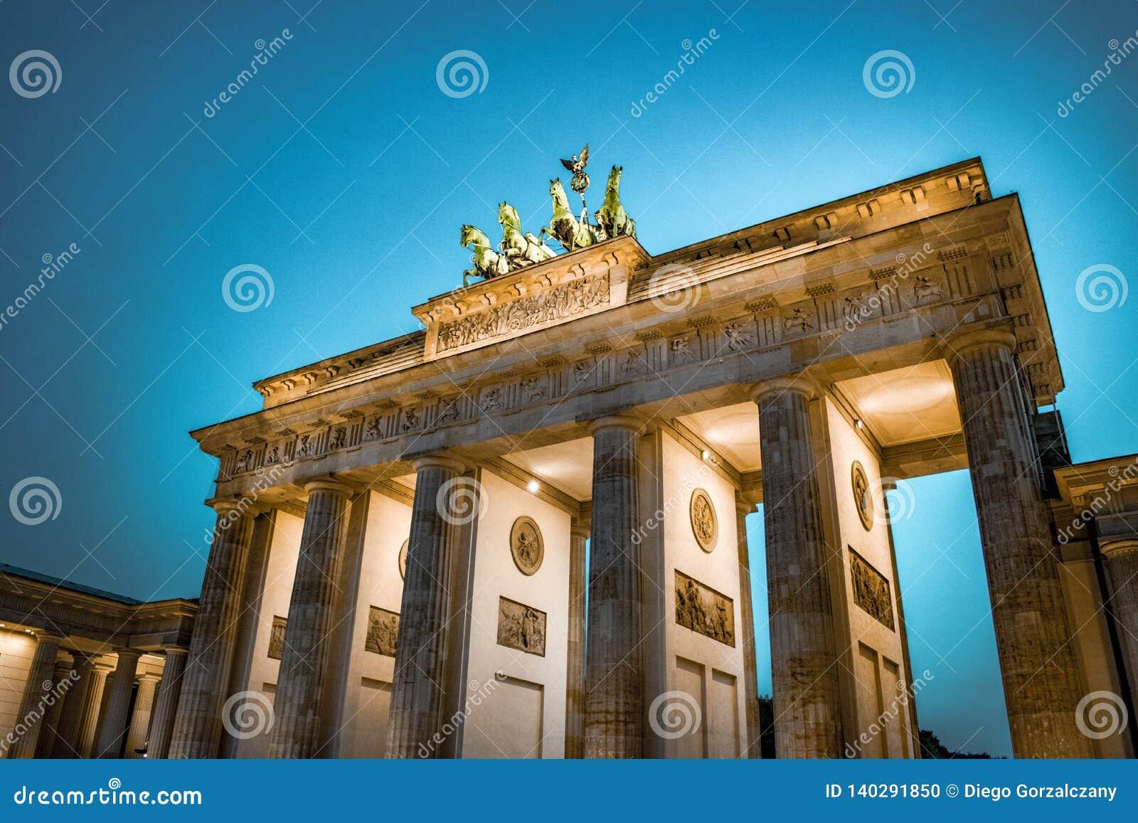 Porta de Brandebourg Berlim