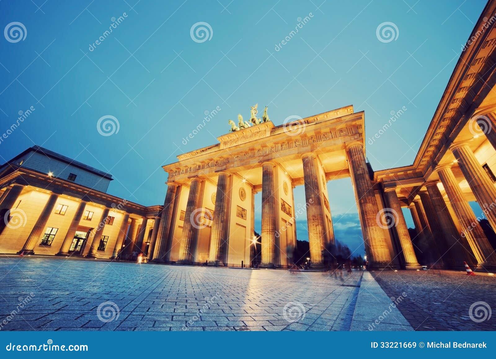 Porta de Brandemburgo, Berlim, Alemanha