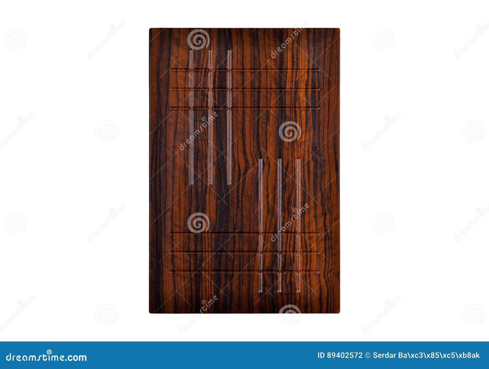 Porta de gabinete de madeira