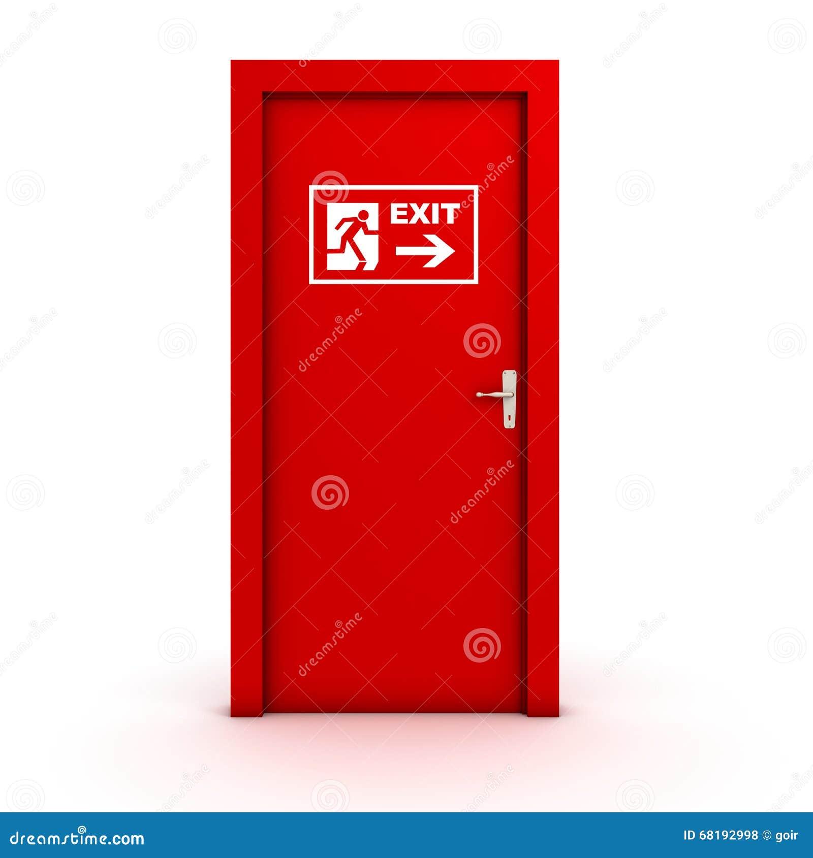 Porta de saída