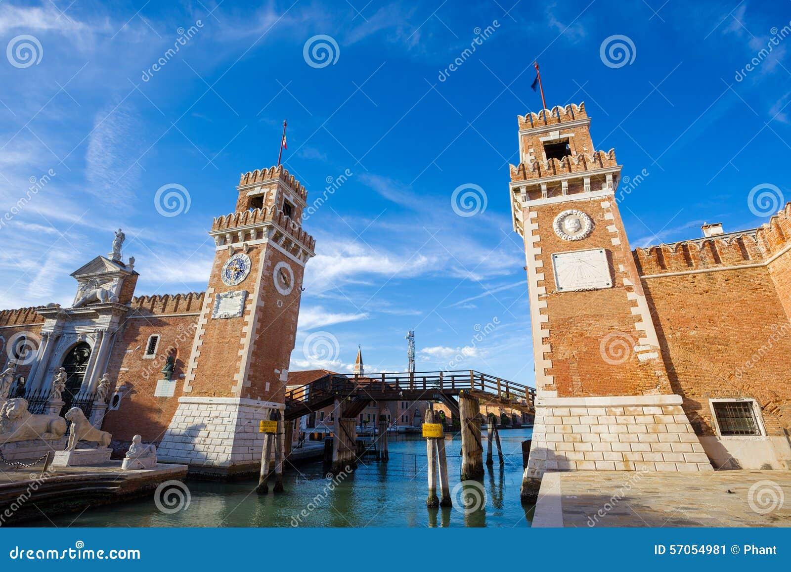 Porta dell Arsenale Venetië Italië