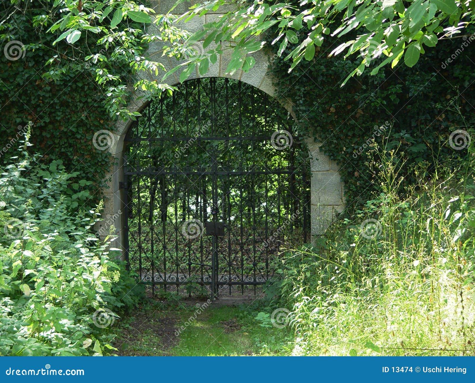 Porta do monastério