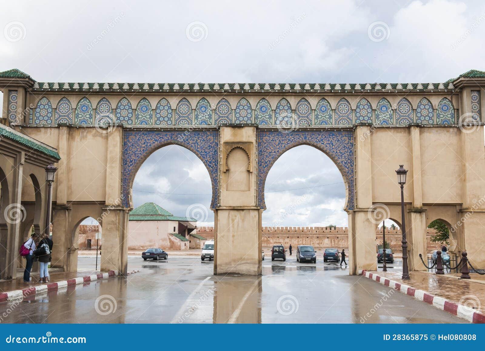 Porta em Rabat, Marocco