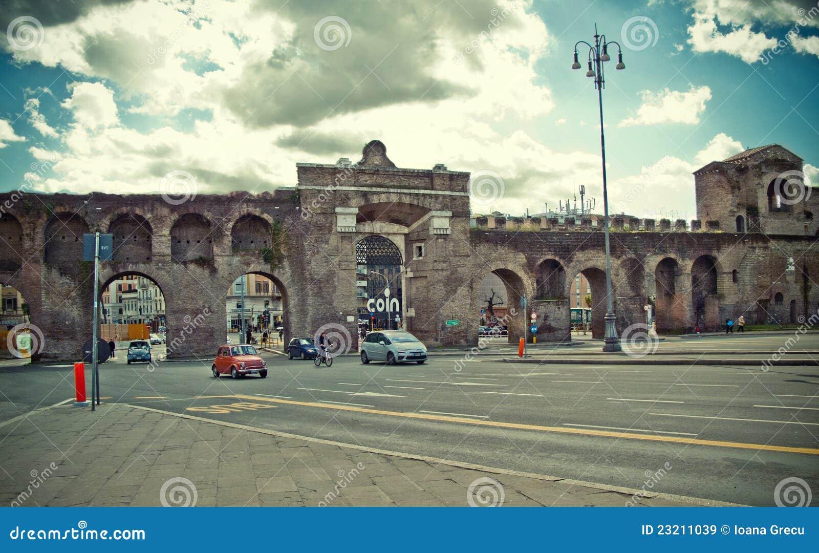 Porta maggiore rome italy editorial stock image image - Rome porta maggiore ...