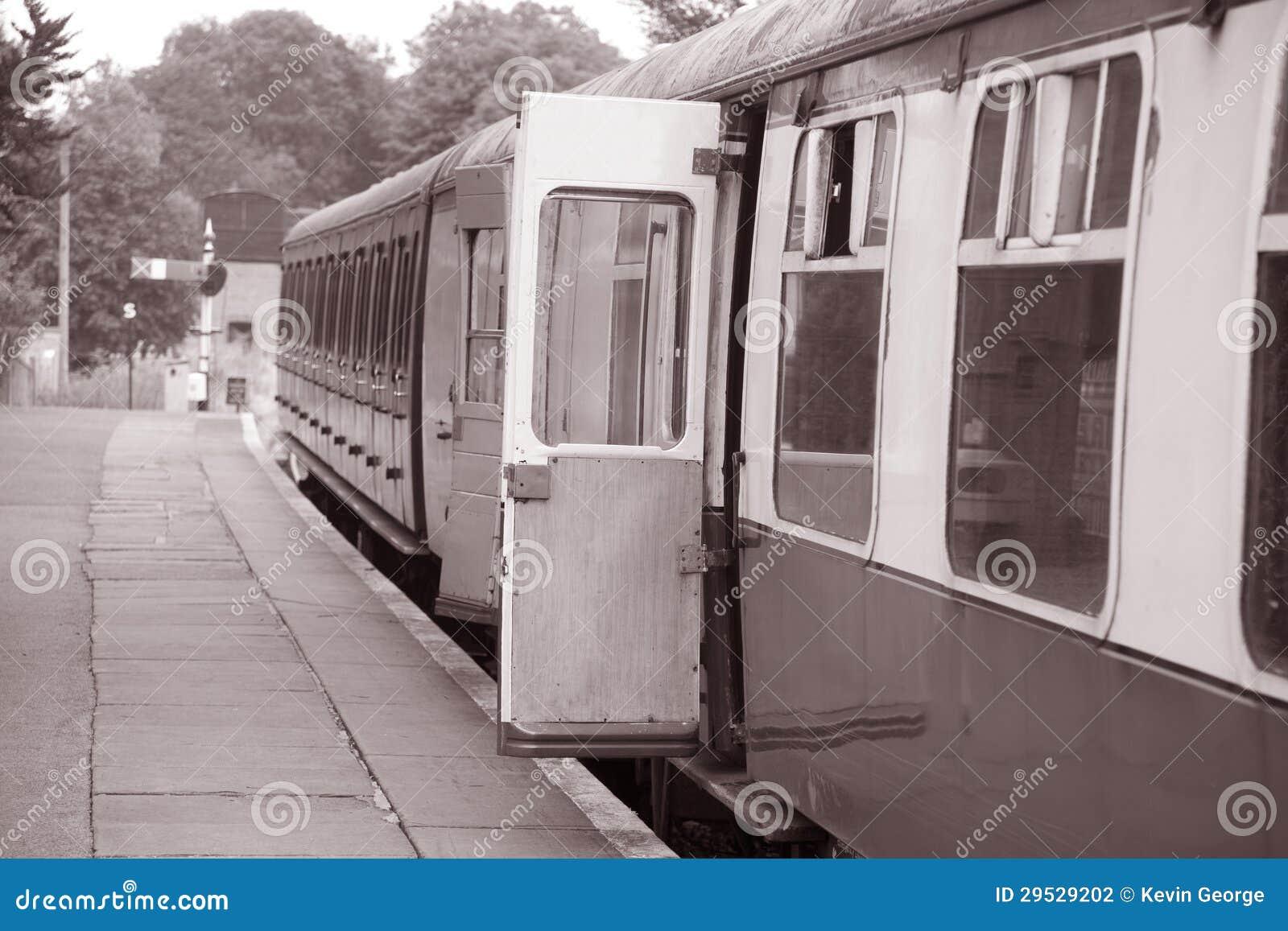 Porta Railway do carro