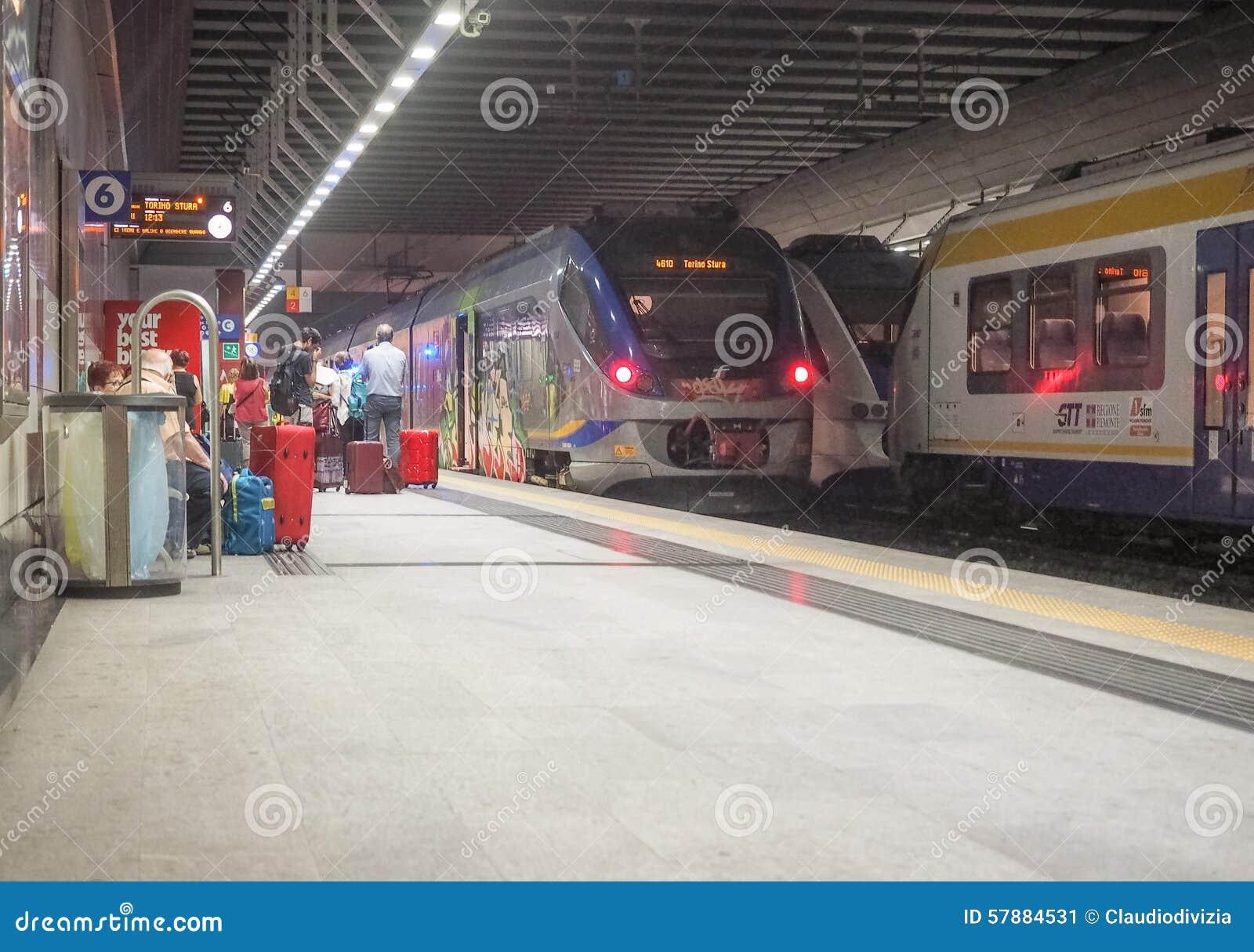 Porta Susa station in Turin