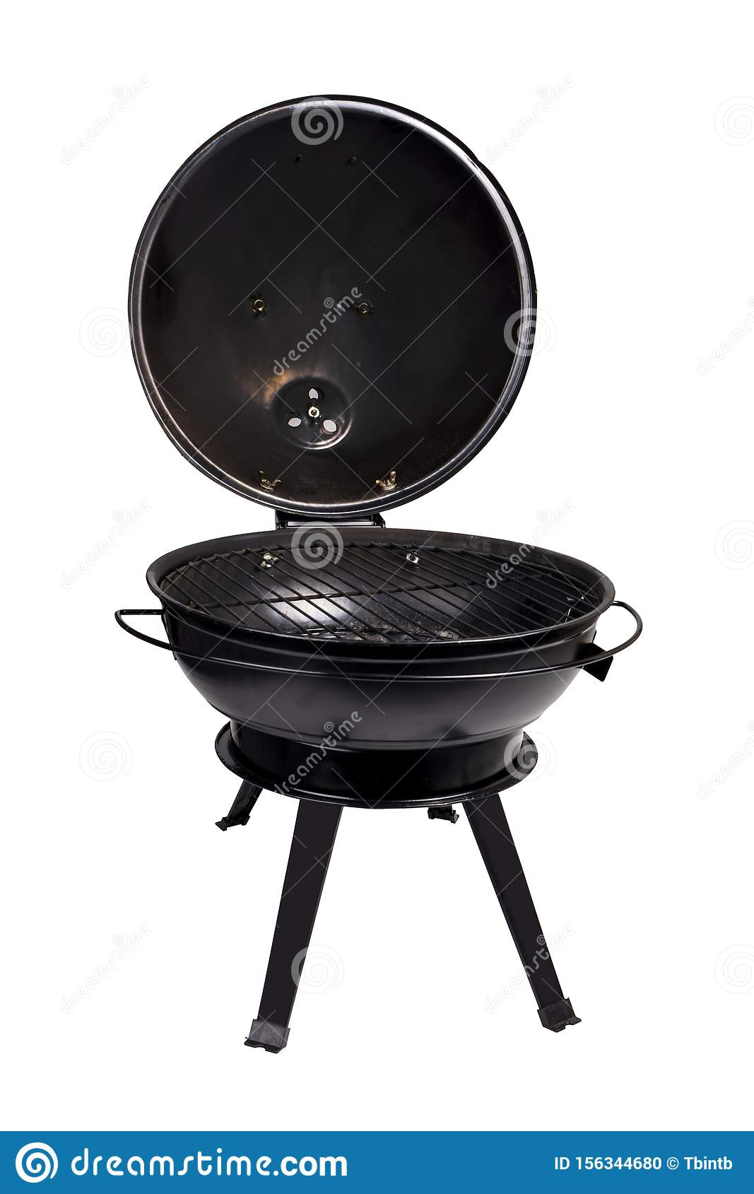 Portable Bbq Grill Stock Photo Image Of Portable Grill 156344680