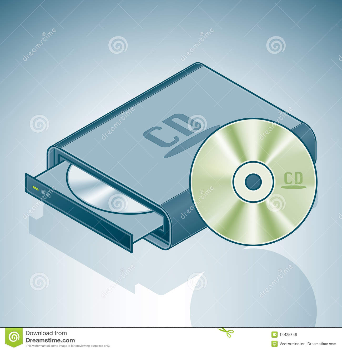 how to set cd rom as e drive