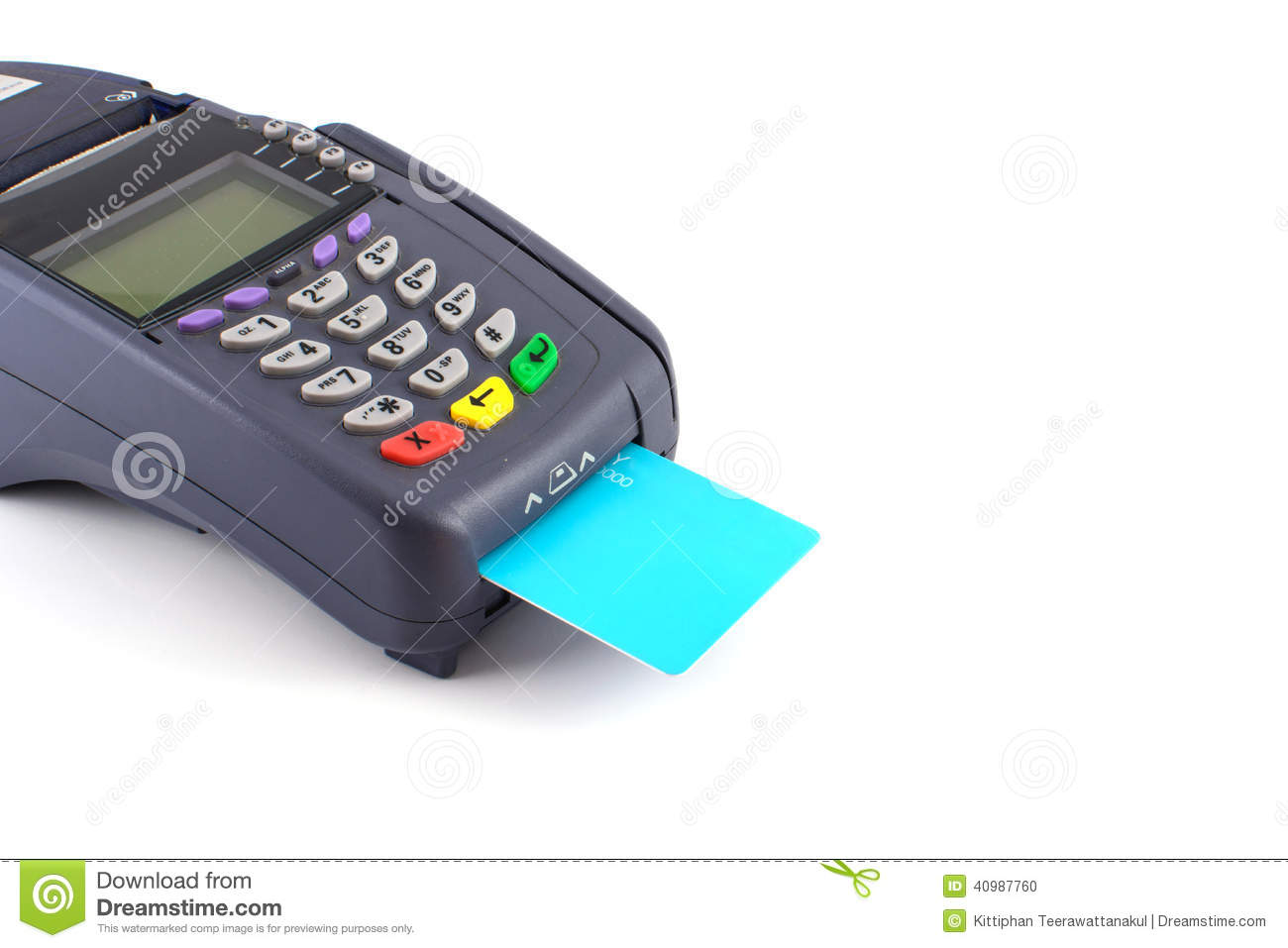 portable credit card