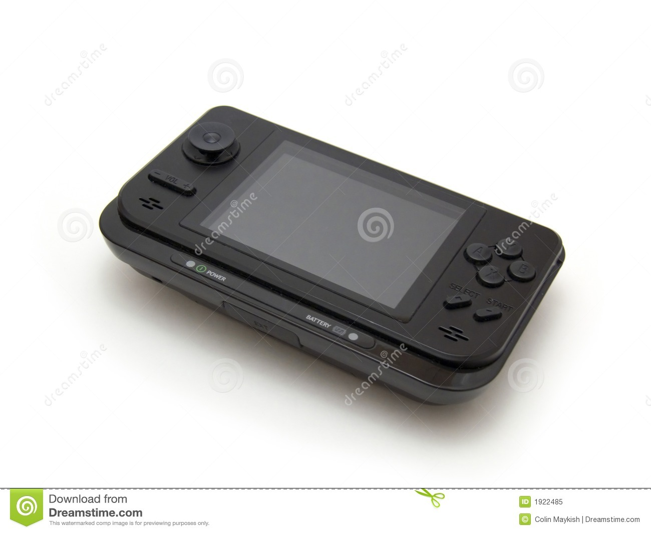 Portable gaming console royalty free stock photo for Free portable