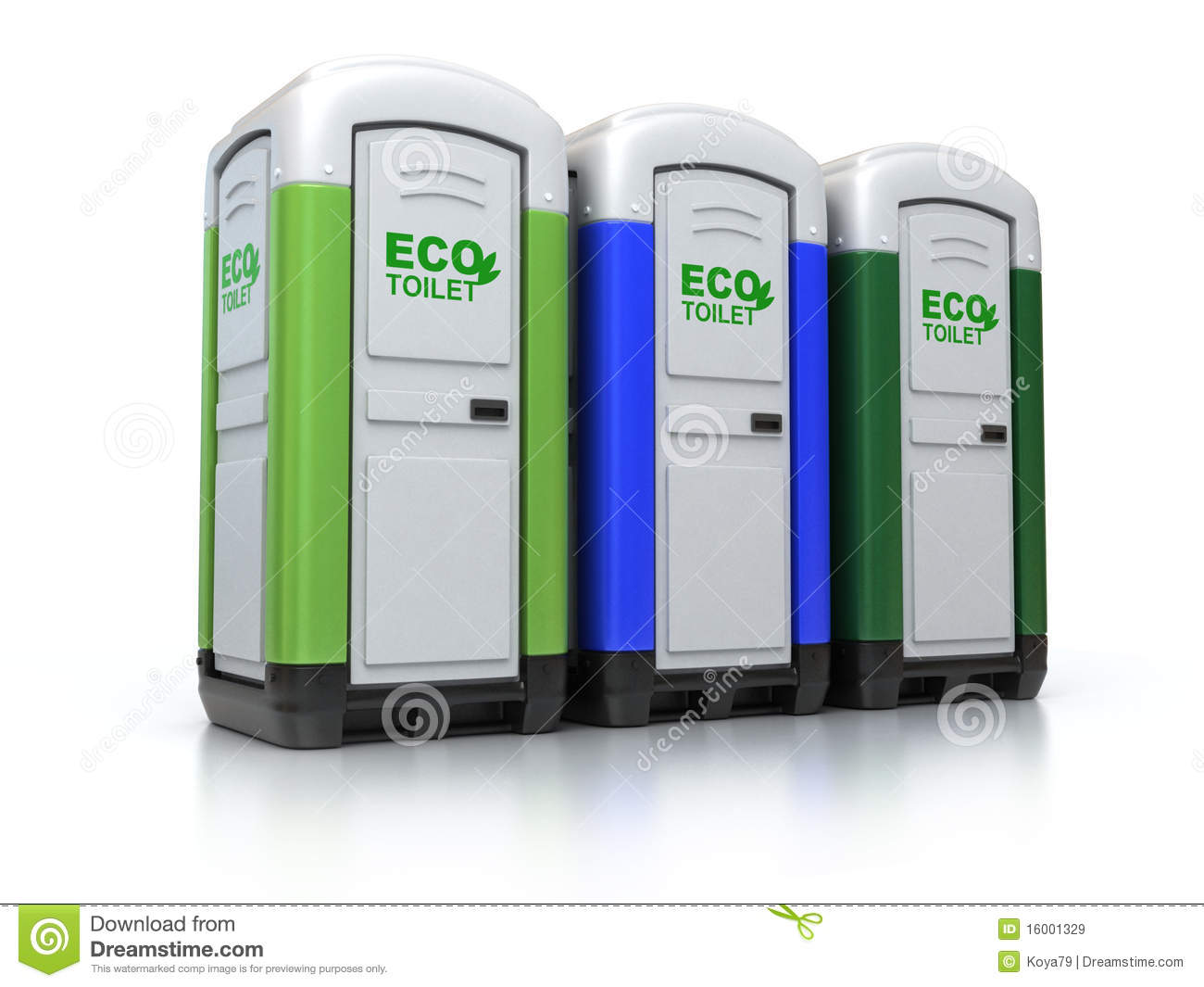 Portable toilets royalty free stock images image 16001329 for Free portable