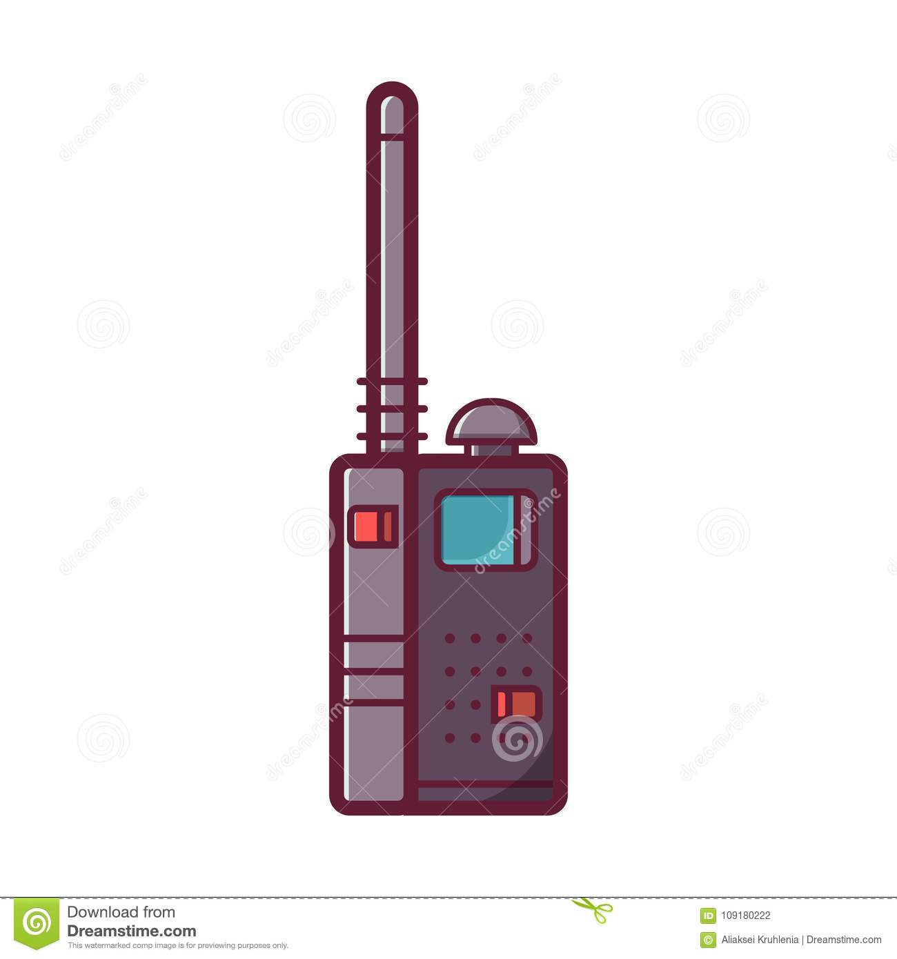 Download Gambar Walkie Talkie Sketsa Sketsa Gambar