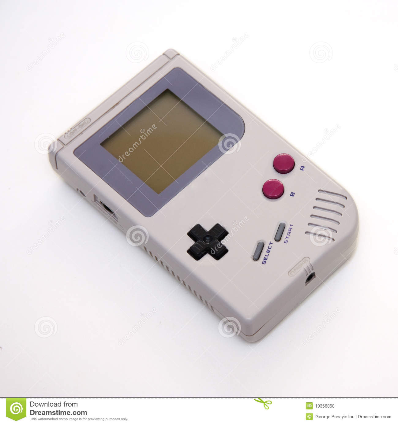 Portable video game console stock photo image 19366858 for Free portable