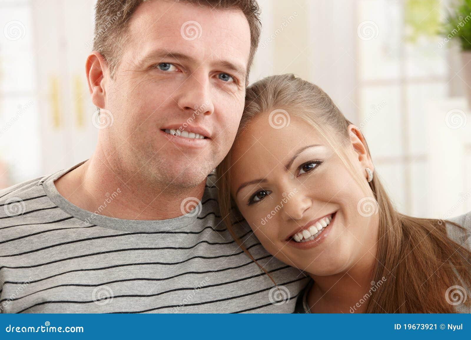 Portait der glücklichen Paare