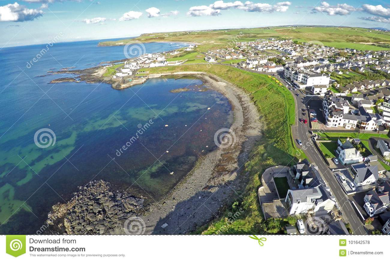 Portballintrae Co Antrim Irlande du Nord