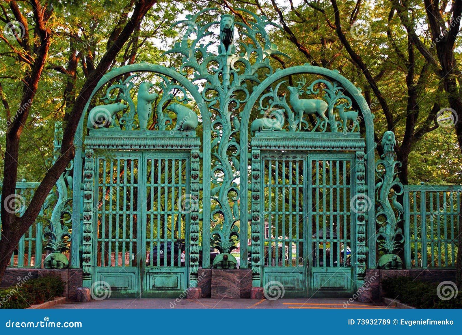 Porte au zoo de Bronx