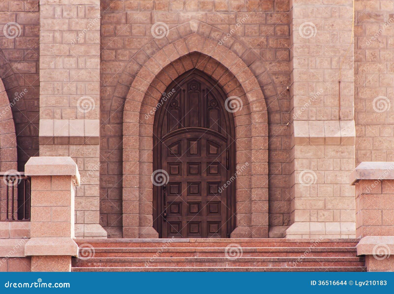 Porte d église