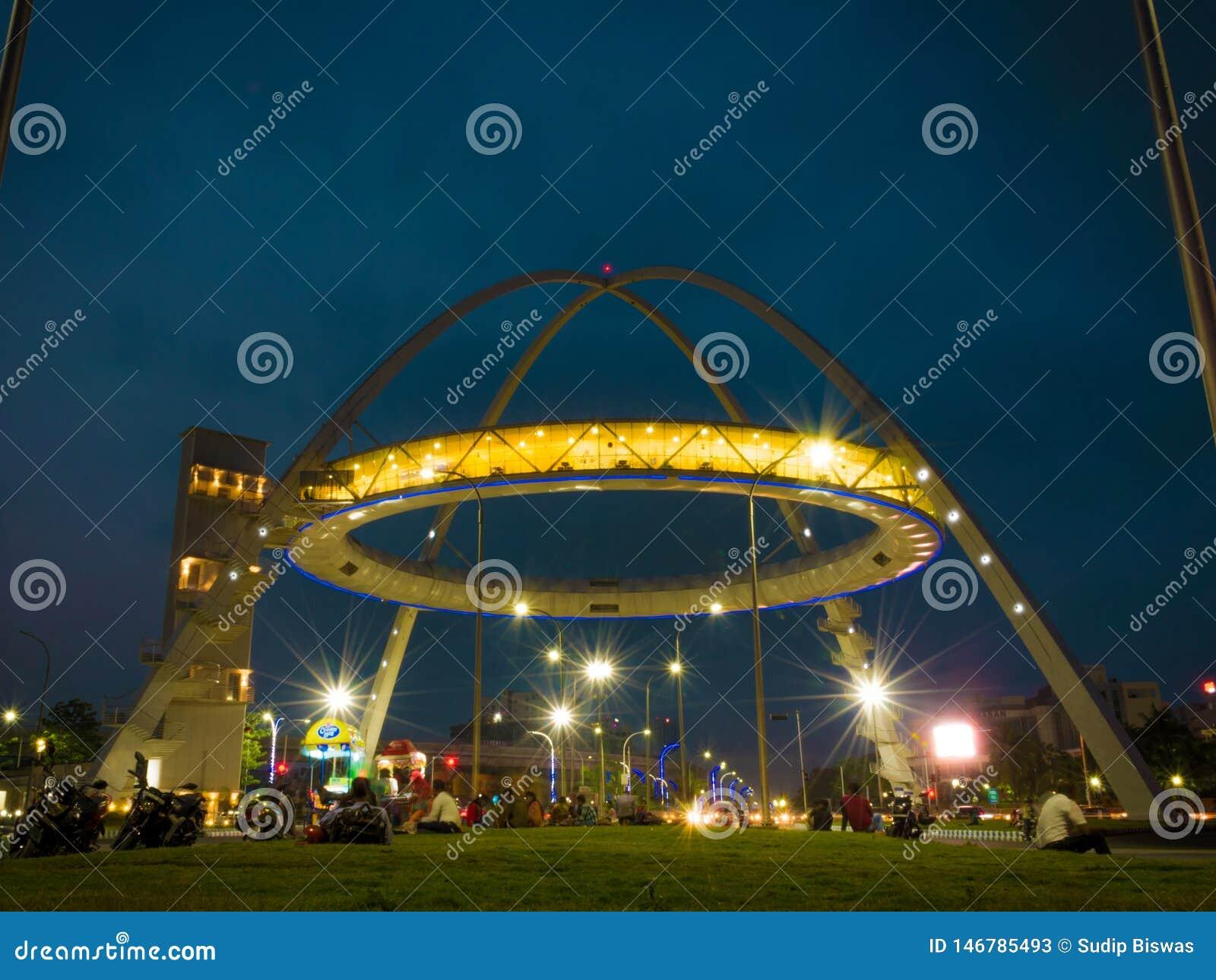 Porte de Biswa Bangla ou porte de Kolkata ? la ville nouvelle