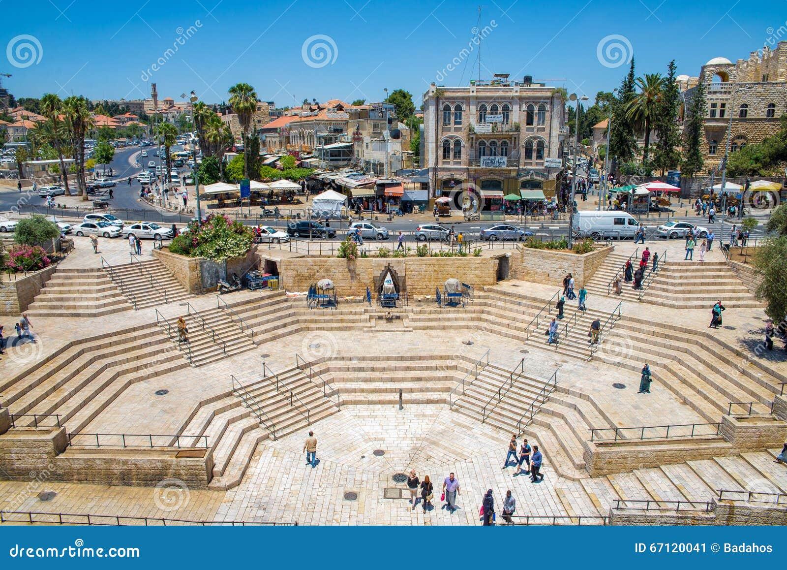 Porte de Damas à Jérusalem