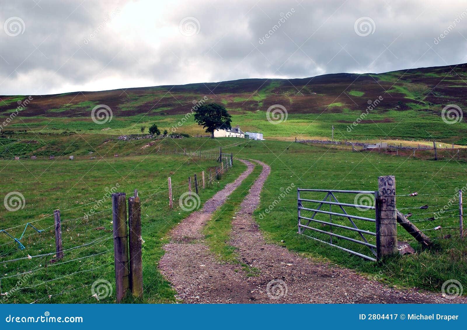 Porte de ferme