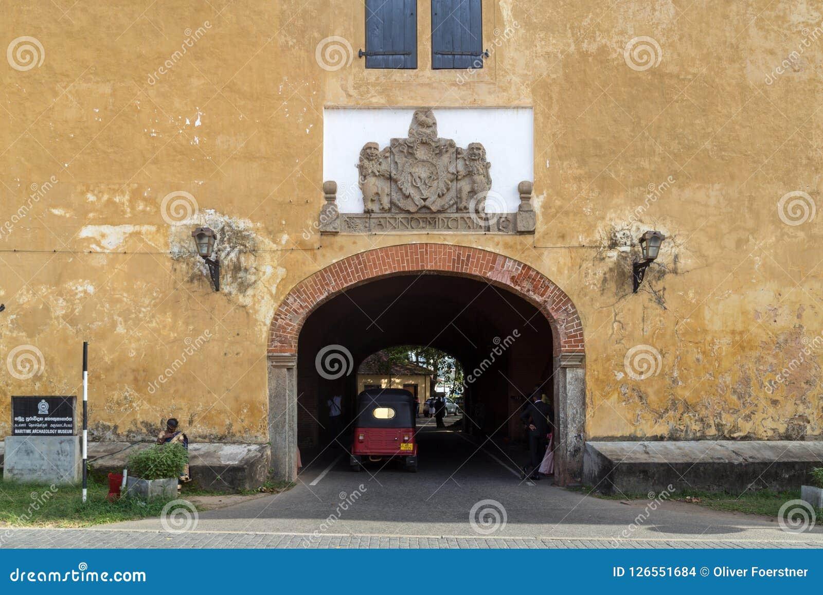 Porte de fort de Galle vieille