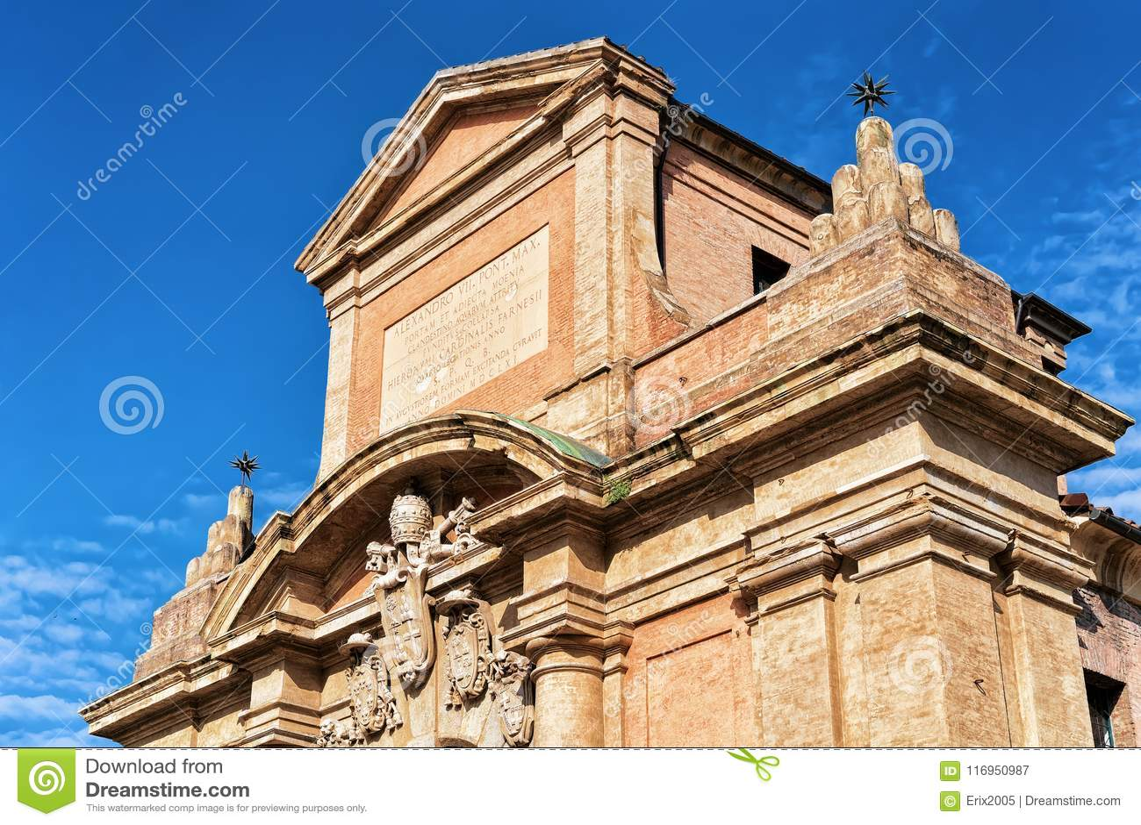 Porte de Porta Galliera à Bologna