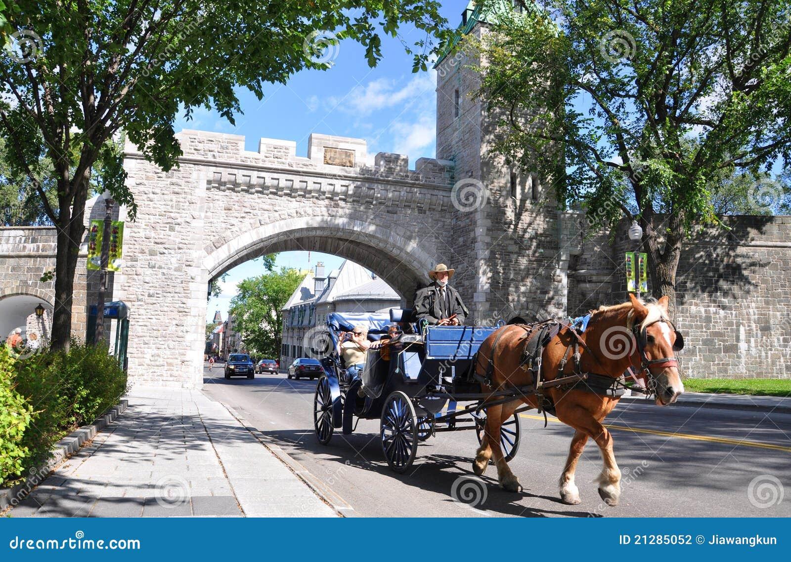 Porte de st louis quebec city photographie ditorial for Porte st louis