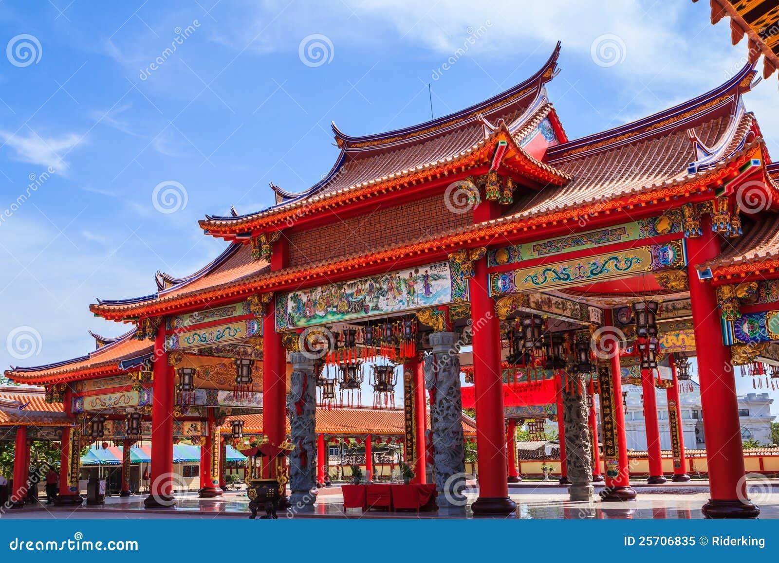 porte de temple chinois image stock image du dragon 25706835. Black Bedroom Furniture Sets. Home Design Ideas