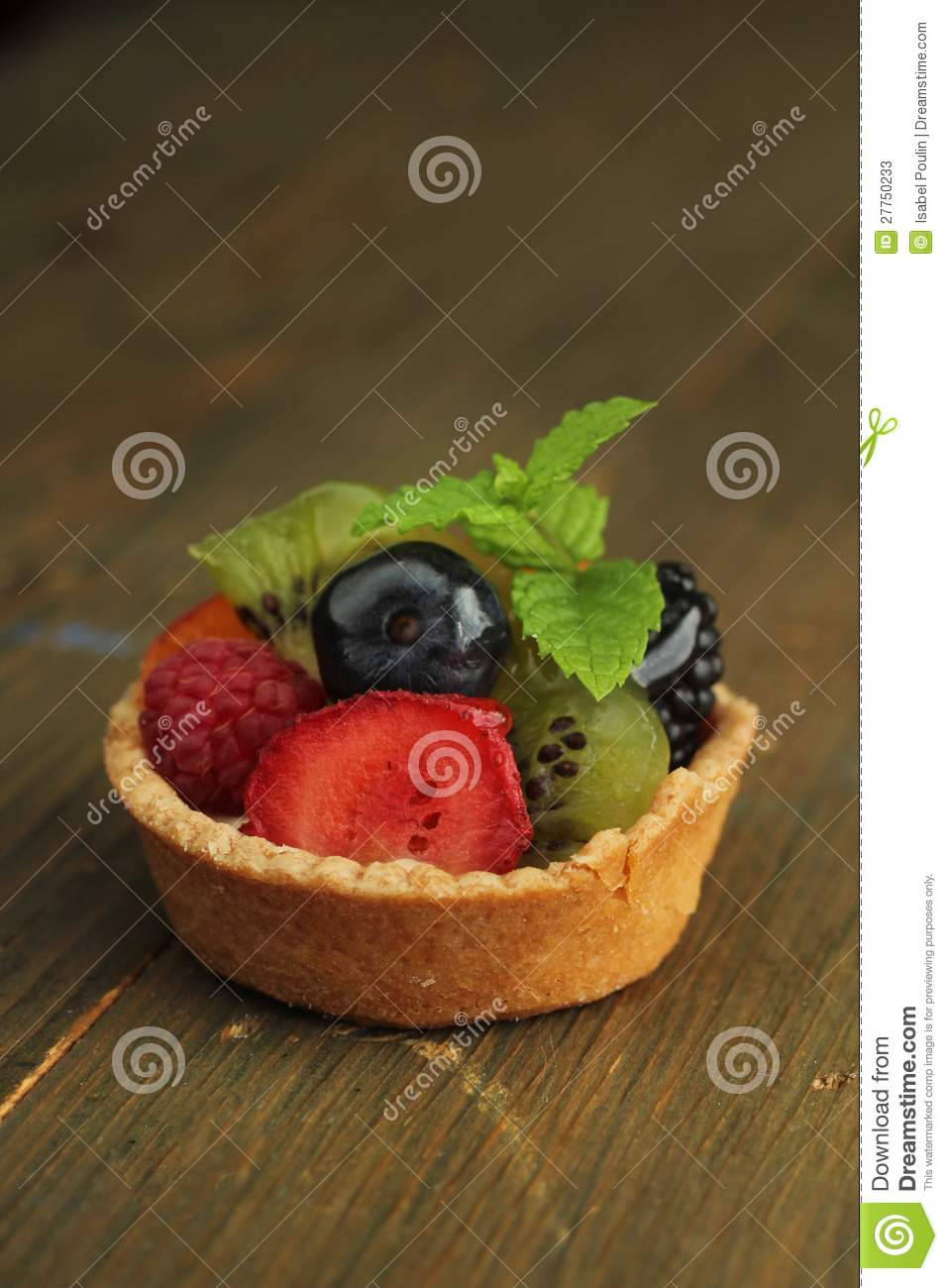 Porte des fruits la tarte