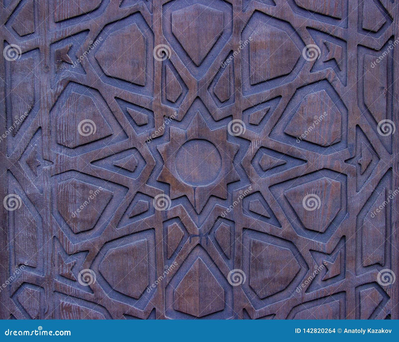 Porte en bois de cru
