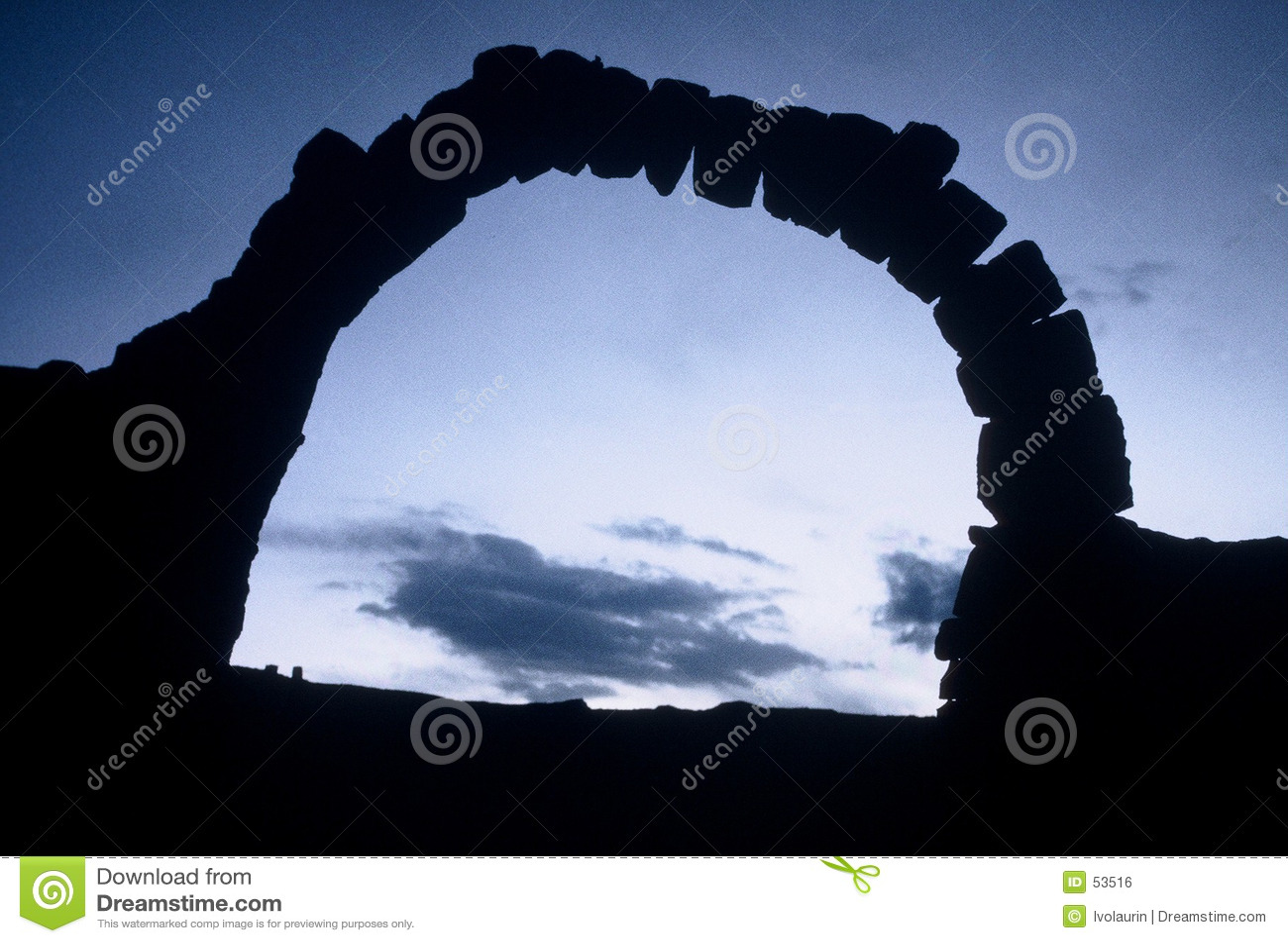 Download Porte en pierre photo stock. Image du entrez, pierres, ciel - 53516
