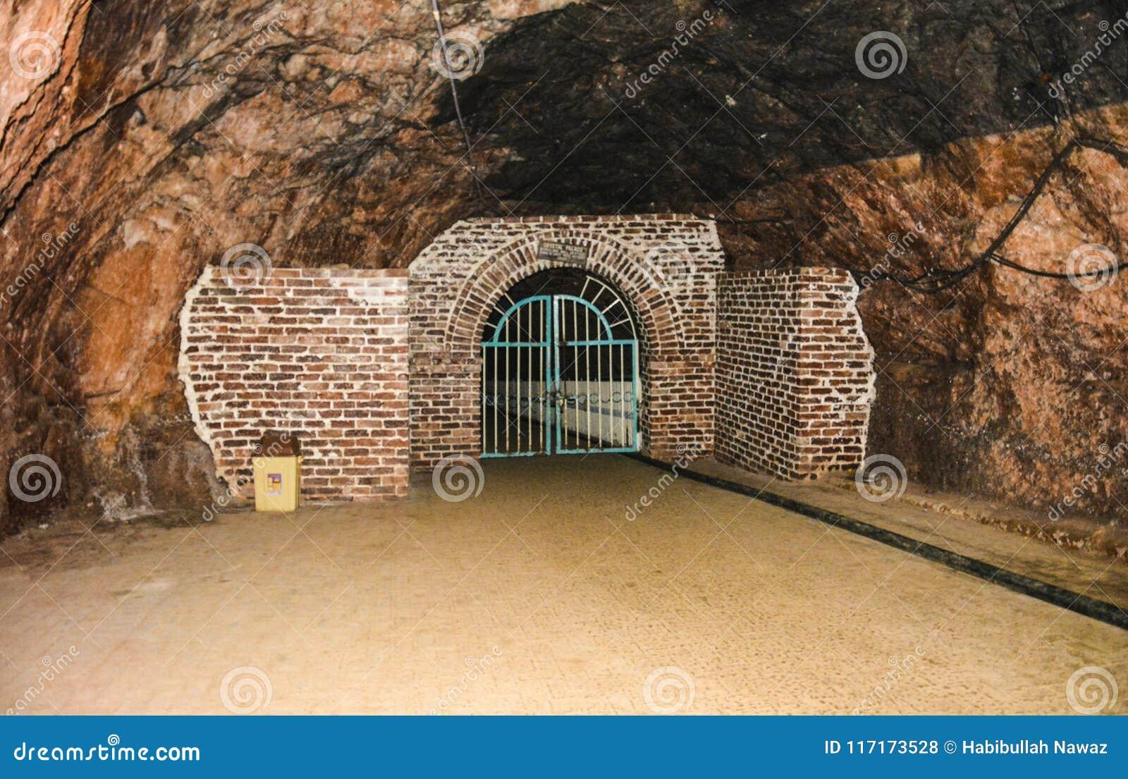 Porte fermée à l intérieur du mien de Khewra