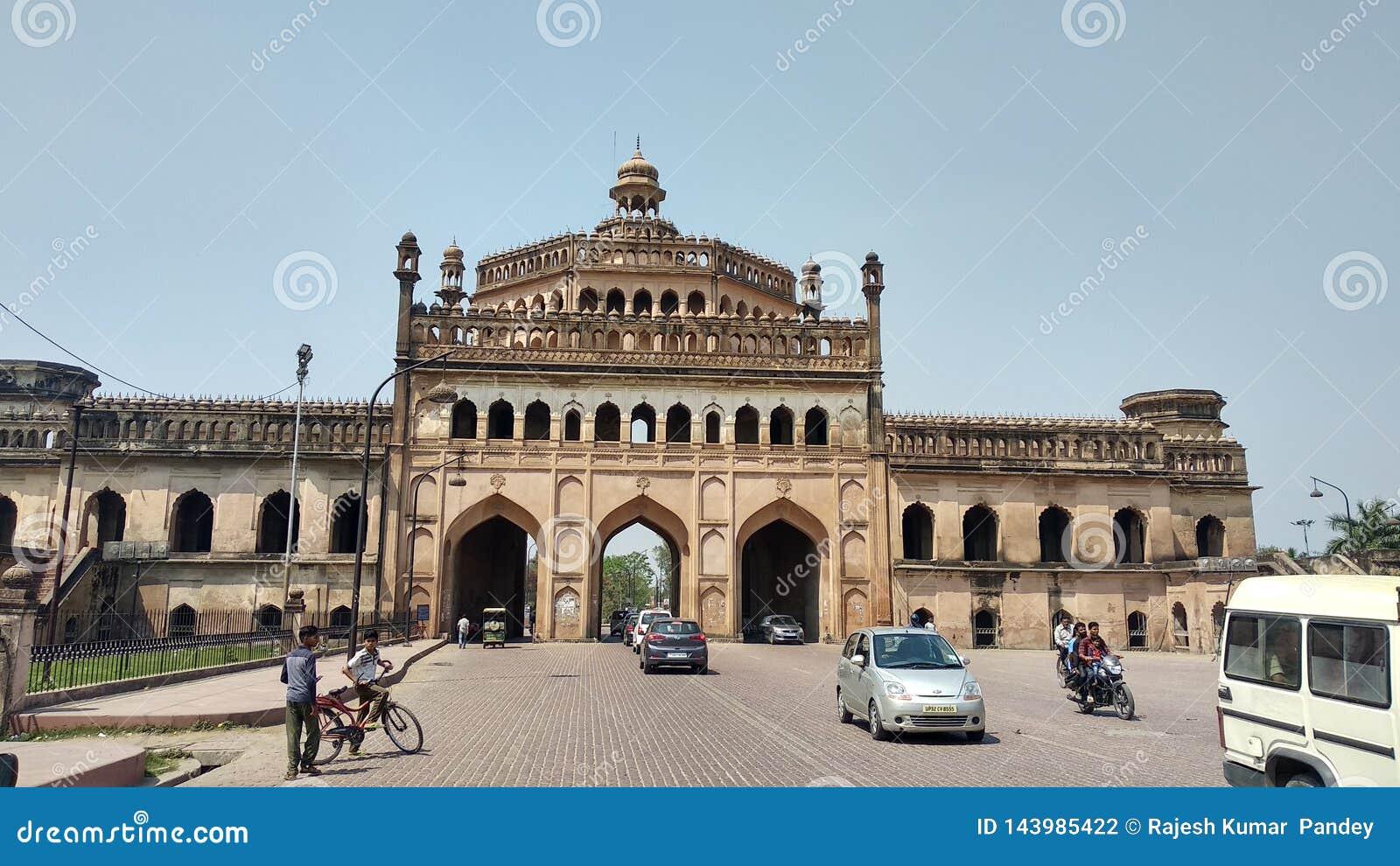 Porte Lucknow Inde de Roomi