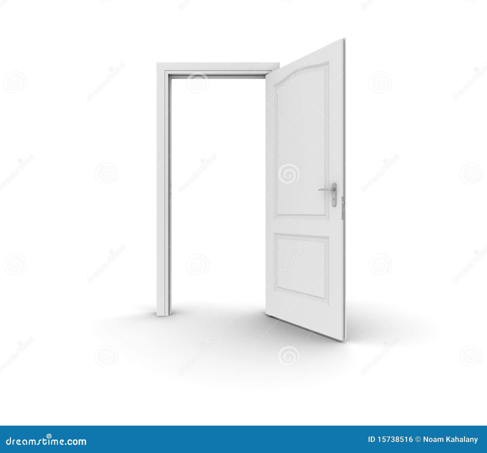 Porte ouverte image libre de droits image 15738516 for Porte ouverte