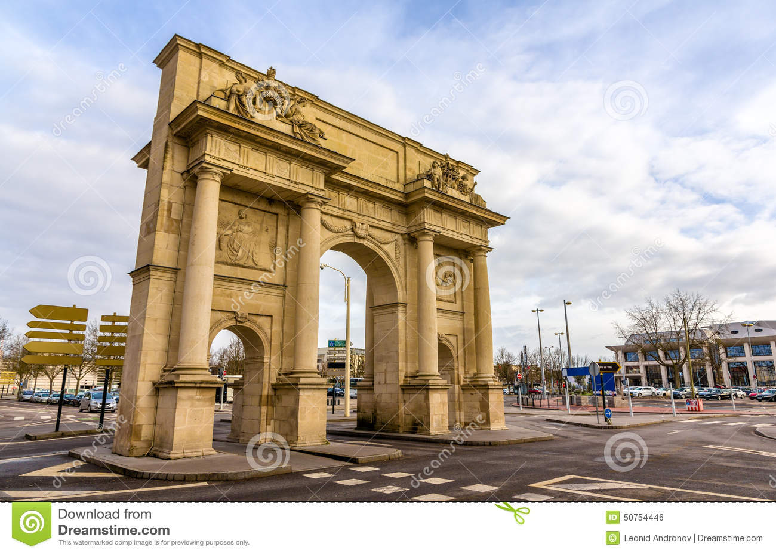Porte sainte-Catherine in Nancy - Frankrijk