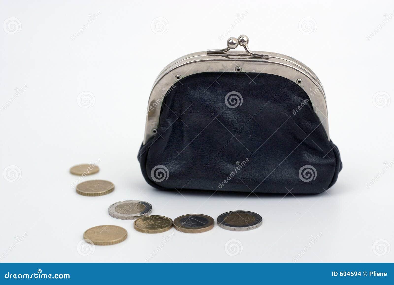 Portefeuille met Coins2