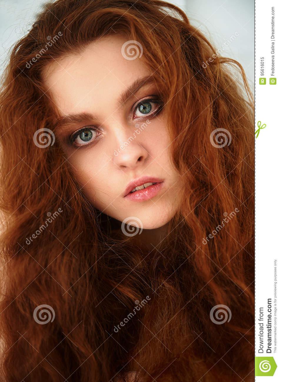 Porter Is A Beautiful Red Haired Girl With Beautiful Natural