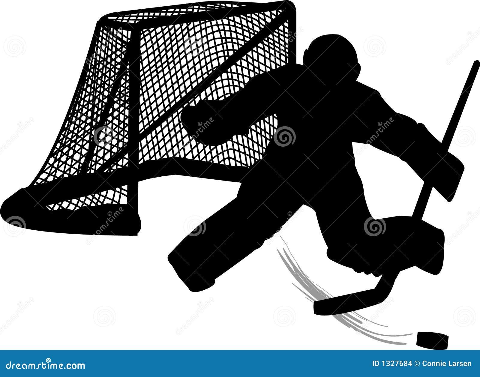 Portero del hockey