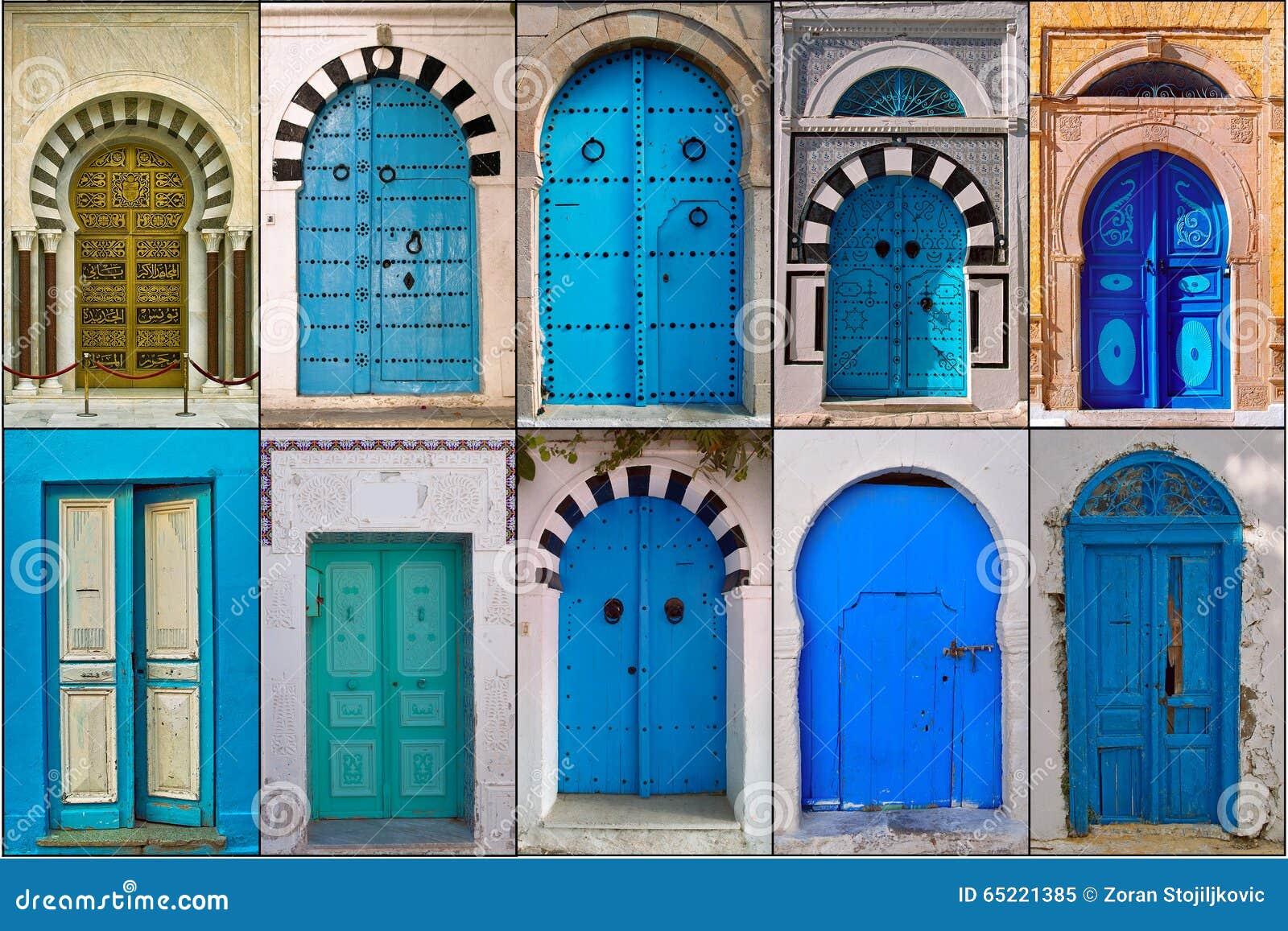 Portes de la tunisie photo stock image 65221385 for Porte de salon tunisie