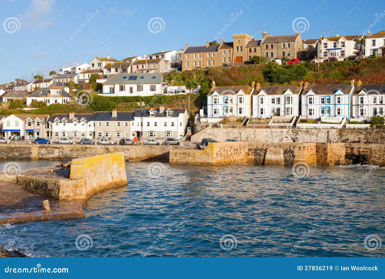 Porthleven Cornwall England