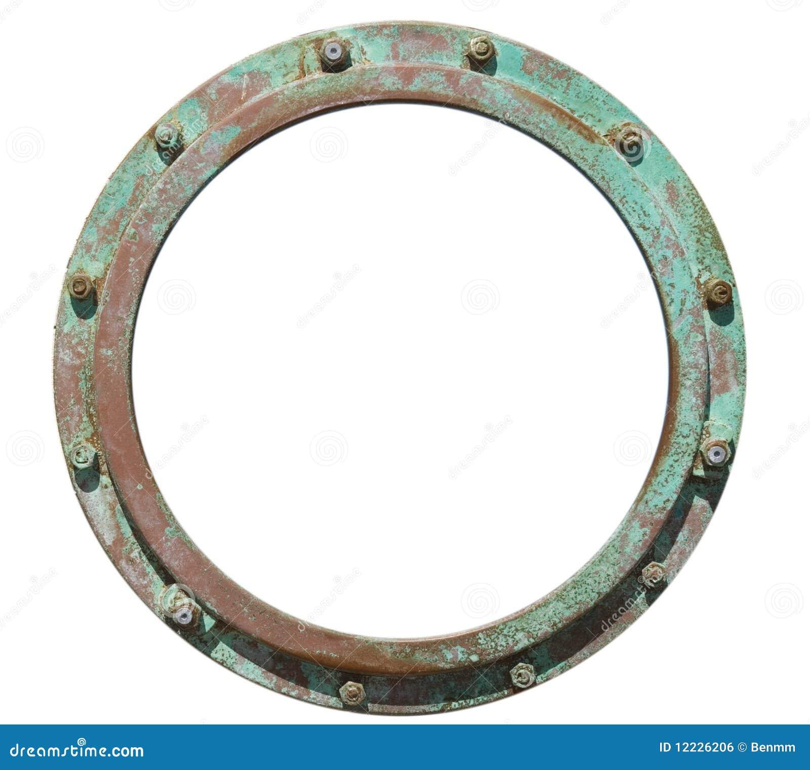 Porthole Photo Frame