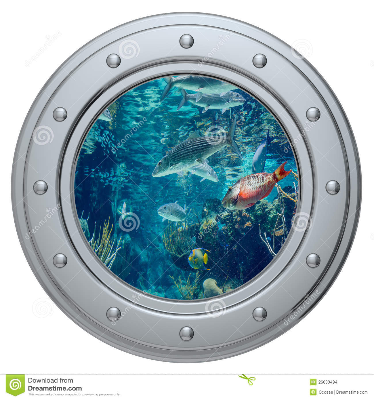 Porthole Photo Frame
