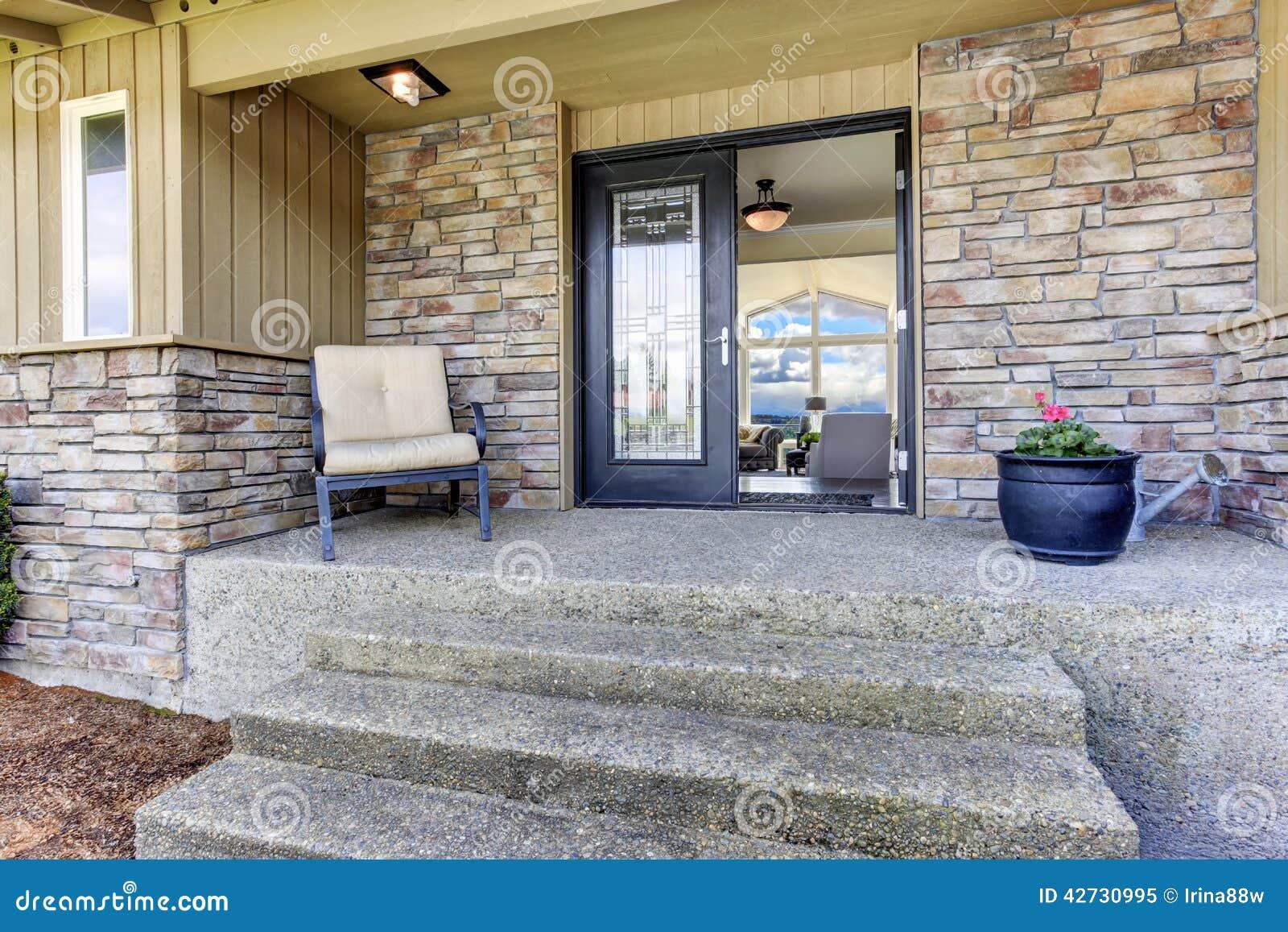 portico dell 39 entrata della camera con la disposizione
