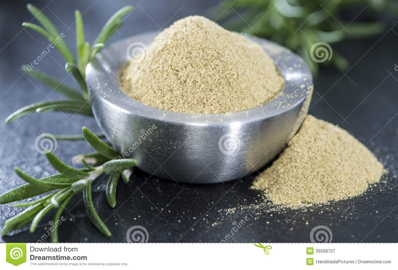 Portion of dried Rosemary