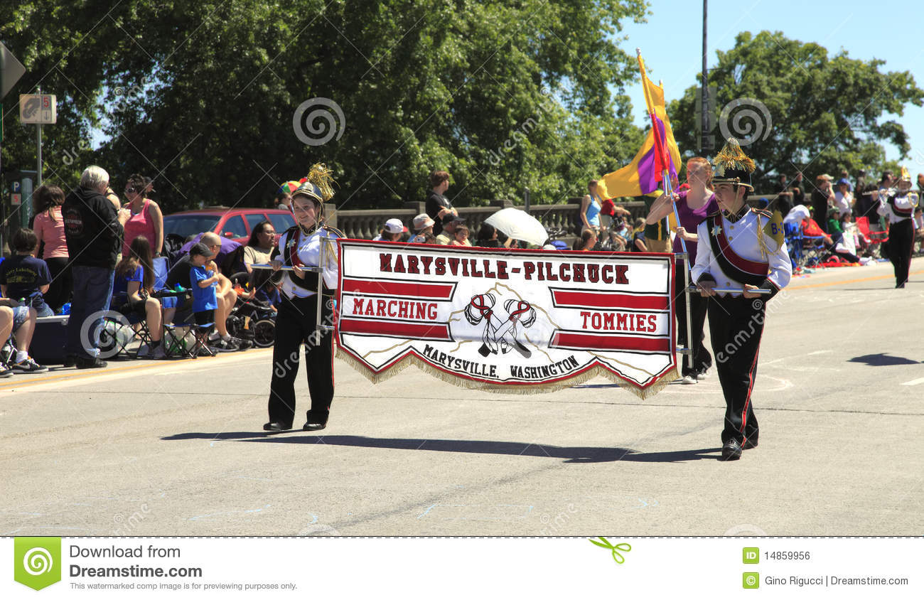 PORTLAND - JUNE 12: ROSE FESTIVAL ANNUAL PARADE.