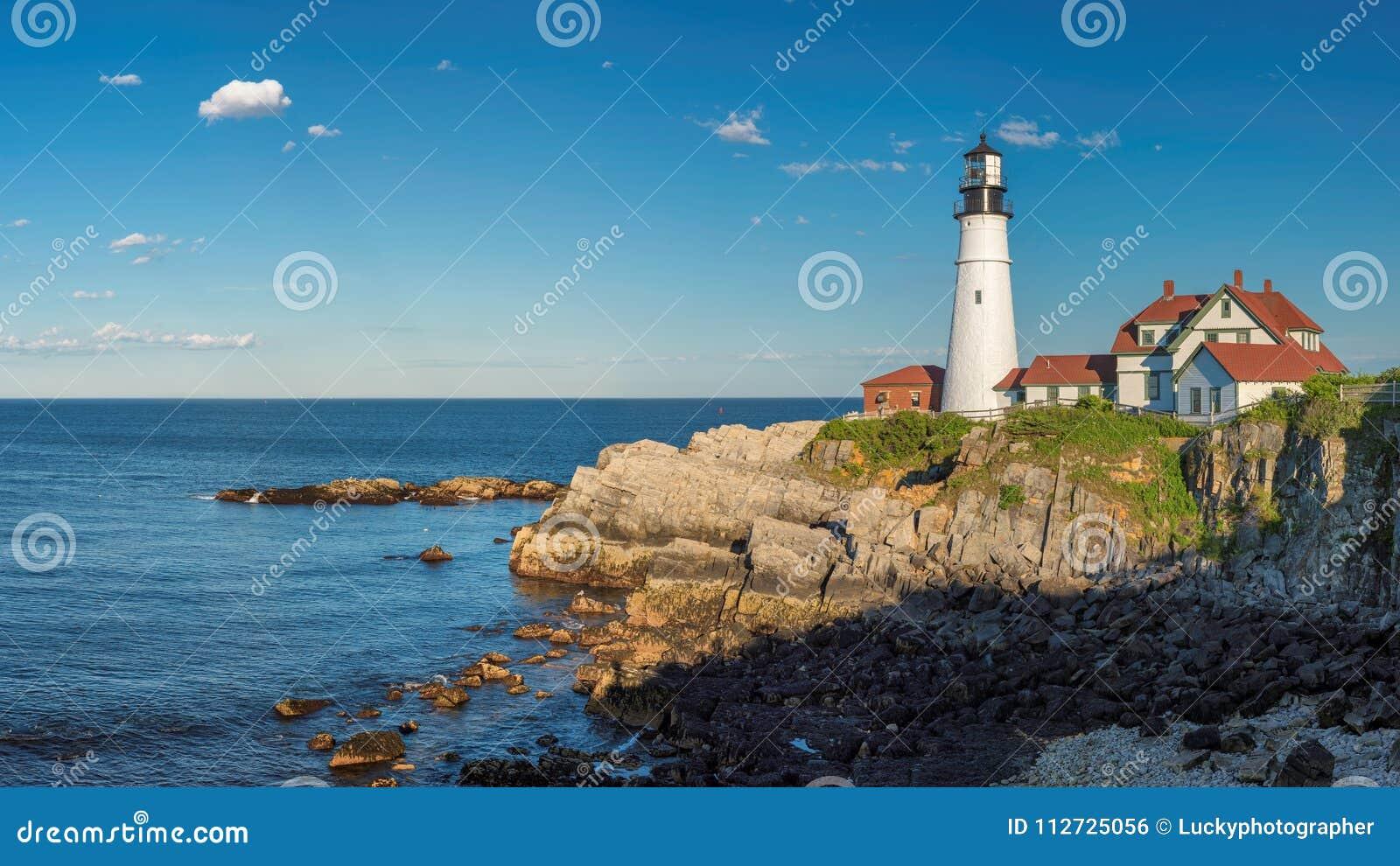 Portland Lighthouse panoramic view