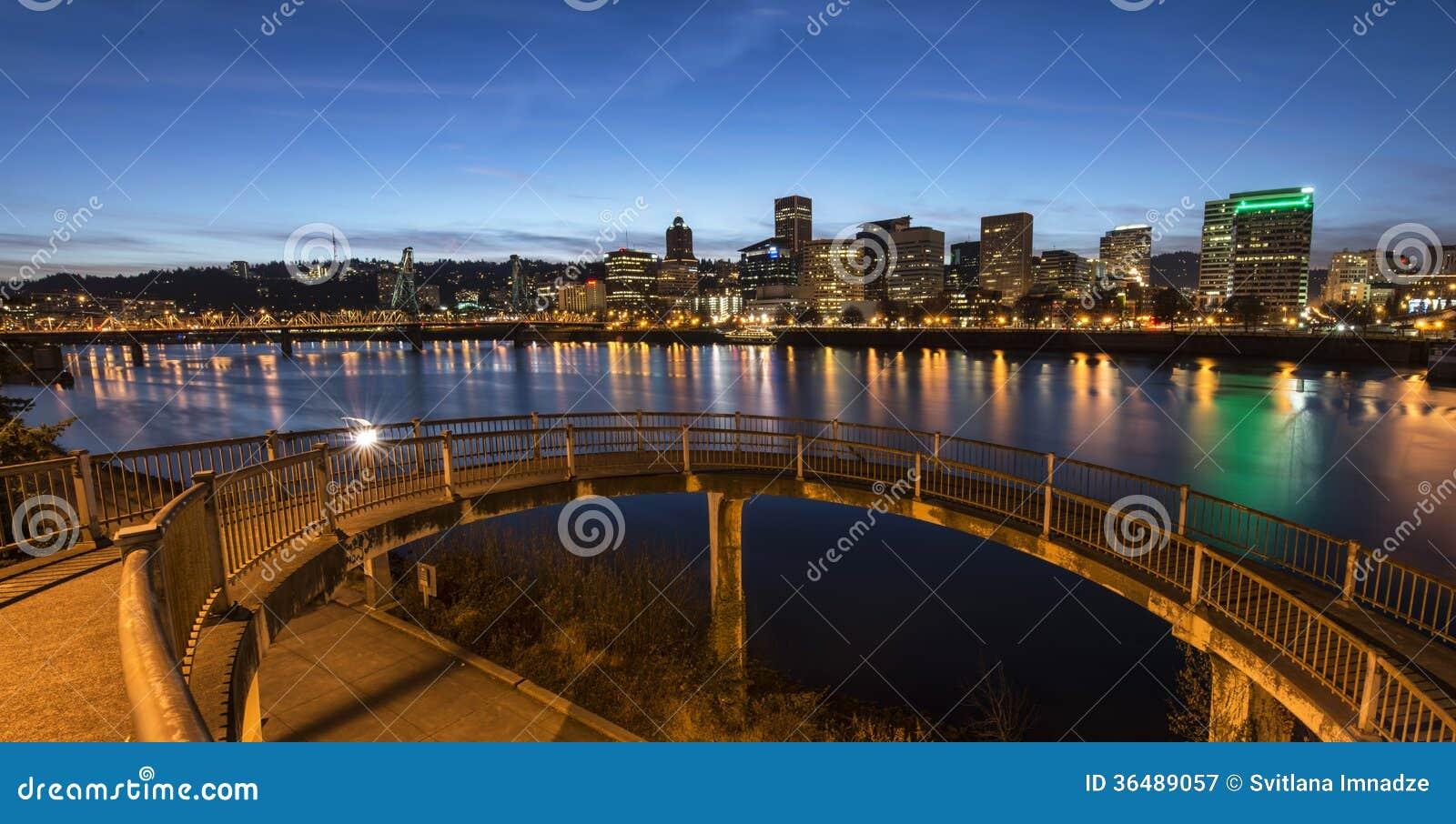 Portland nachts