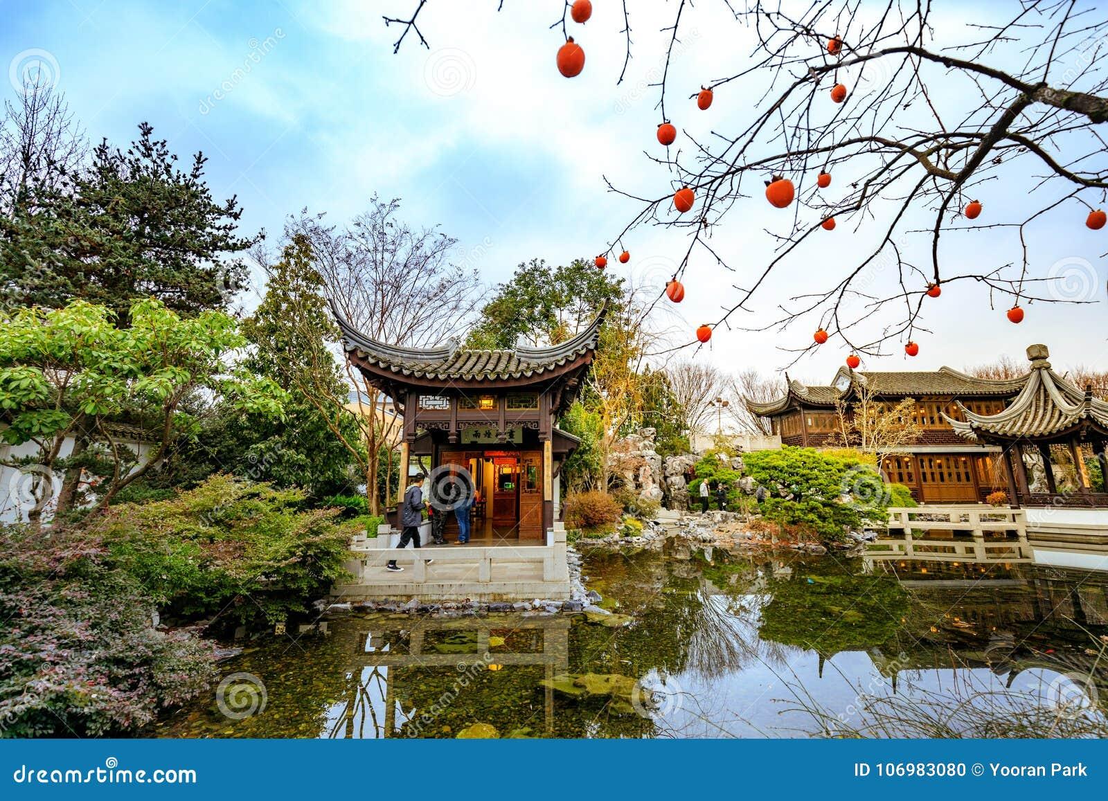 download the landmark lan su chinese garden portland classical chinese g editorial image image - Lan Su Chinese Garden